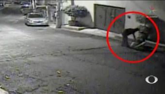 Foto: Hombre Golpea Mujer Llaman 911 Patrulla No Llega 11 Octubre 2019