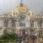 lluvia cdmx bellas artes