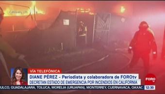California padece nuevos incendios forestales y decretan desalojos