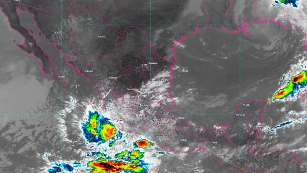 Foto: Protección Civil y Capitanías de Puertos recomendaron estar atentos a los avisos, ya que se prevén lluvias intensas este fin de semana, 19 de octubre de 2019 (@procivy)