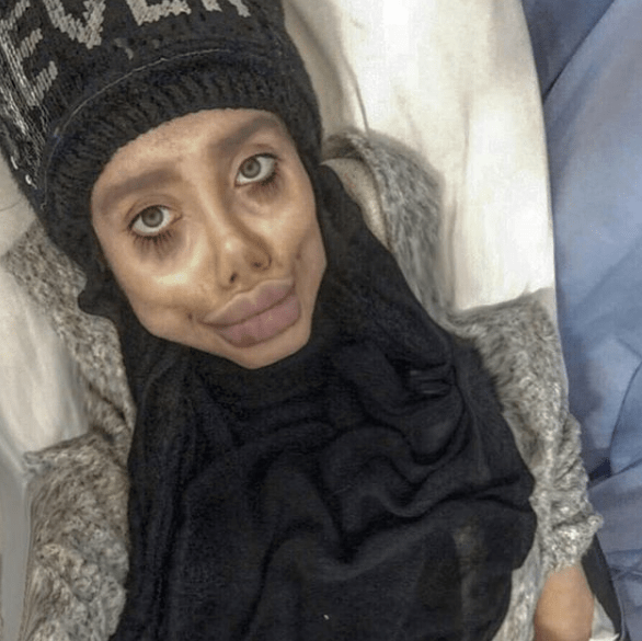 Foto: influencer arrestada Sahar Tabar. 7 Octubre 2019