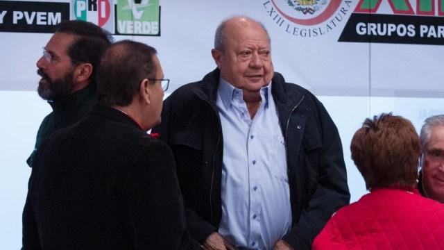 Foto: Carlos Romero Deschamps, exlíder petrolero, el 16 de octubre de 2019 (Foto: Moisés Pablo /Cuartoscuro.com)