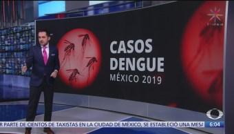 Casos de dengue México, dentro del rango esperado