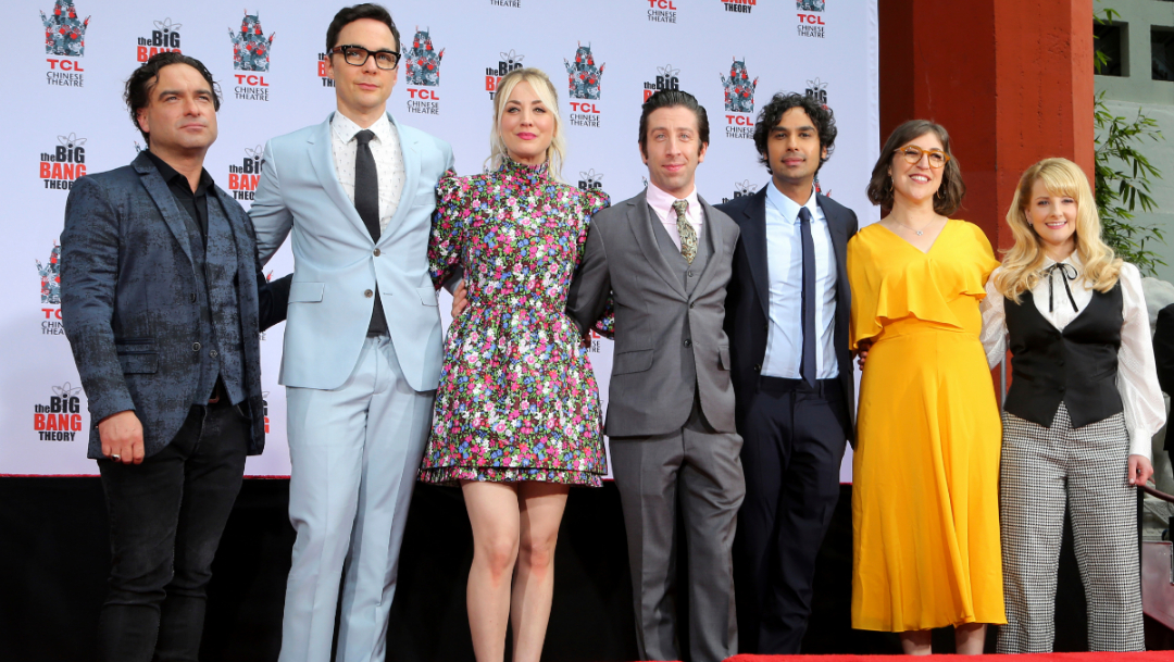 Foto: Cast de The Big Bang Theory. 9 Octubre 2019