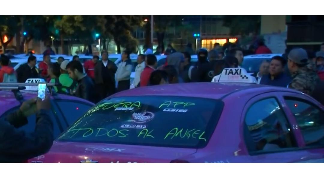 FOTO CDMX mantiene disposición de diálogo con taxistas, dice Lajous (FOROtv)