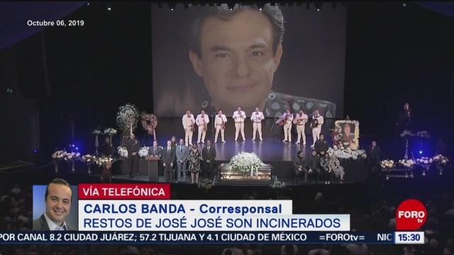 FOTO: Cenizas José José Entregarán Dos Partes,