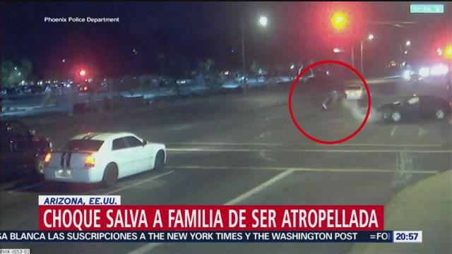 Foto: Video Choque Salva Familia Ser Atropellada Phoenix Arizona 24 Octubre 2019