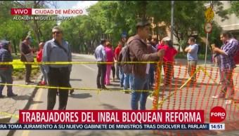 FOTO: Circulación CDMX Afectada Por Bloqueo Paseo Reforma