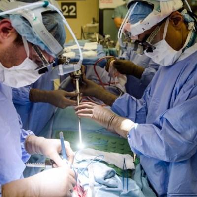 Foto: Cirugía en hospital de Philadelphia, 23 de enero de 2018, Estados Unidos