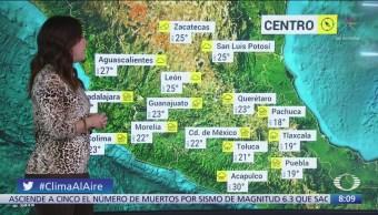 Clima Al Aire: Frente frío 5 se extiende en norte de México