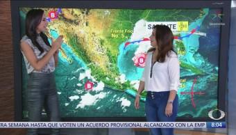 Clima Al Aire: Lluvias intensas en Nayarit, Jalisco, Colima, Michoacán y Guerrero