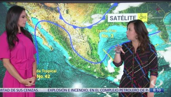 Clima Al Aire: Lluvias intensas para Puebla, Veracruz, Oaxaca, Tabasco y Chiapas
