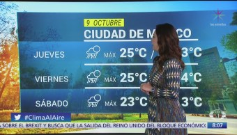 Clima Al Aire: Lluvias puntuales en Chiapas, Oaxaca y Veracruz