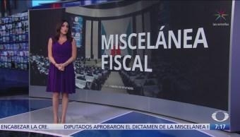 Comisión de Hacienda aprobó el dictamen de la Miscelánea Fiscal