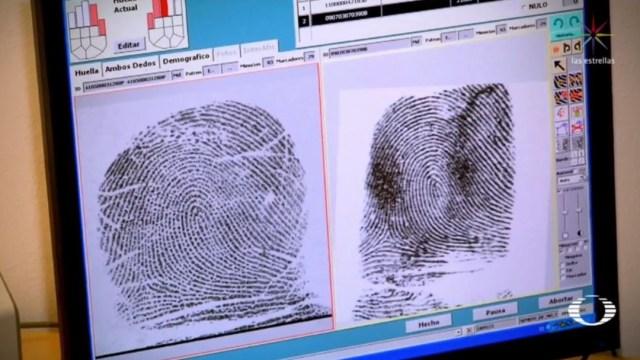 IMAGEN Huellas dactilares identifican cuerpos en fosas comunes CDMX