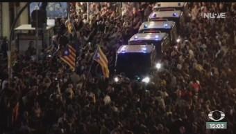 FOTO: Continúan las movilizaciones y protestas en España, 28 octubre 2019