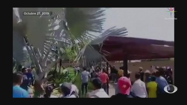 Foto: Peleas Dirigencia Nacional Morena 28 Octubre 2019