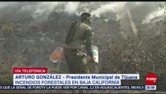 Foto: Incendios Tijuana Controlados Arturo González 25 Octubre 2019