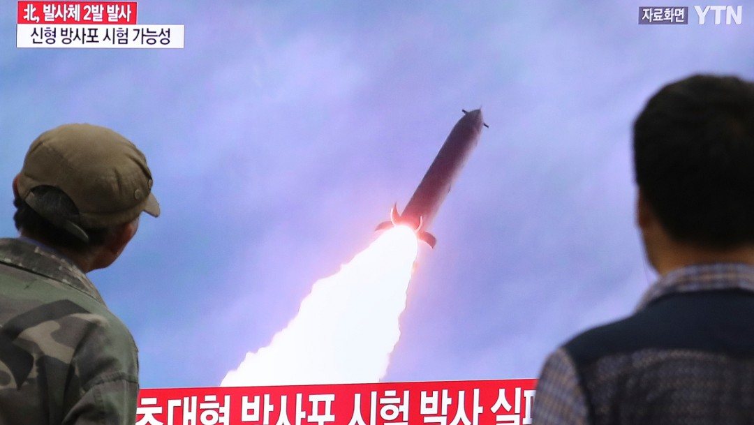 FOTO Corea del Norte dispara dos proyectiles no identificados