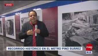 #CotorreandoconlaBanda: 'El Repor' suelto en Metro Pino Suárez
