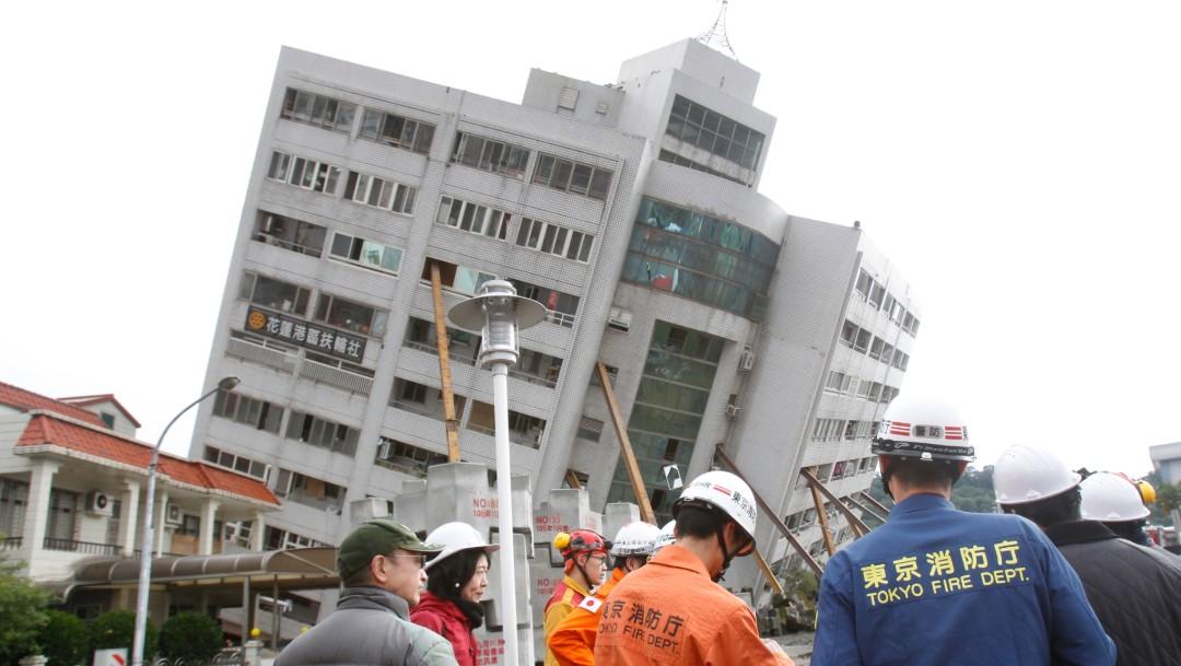 FOTO: Crean en Japón aplicación que adelanta daños por sismo, 9 de febrero de 2019, Taiwán