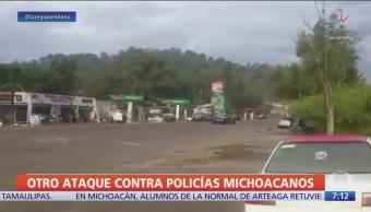 Crimen organizado ataca a policías en Zitácuaro, Michoacán