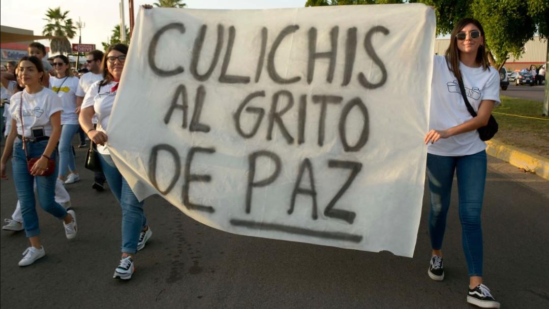 "Foto: ""Todo parte a raíz del jueves negro que vivimos aquí en Culiacán, queremos recuperar nuestras calles"", comentó Esteban García, organizador"