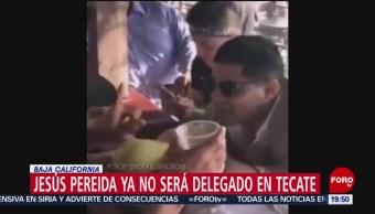 Foto: Baja Funcionario Beber Tequila Cuerpo Mujer 11 Octubre 2019