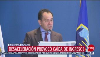 Foto: Desaceleración Económica Caída Ingresos México Shcp 1 Octubre 2019