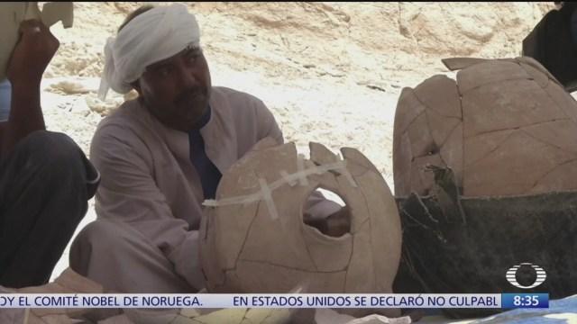 Descubren nuevos sitios arqueológicos en valle de Luxor, Egipto