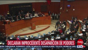 Foto: Desechan Desaparición Poderes Veracruz Guanajuato Tamaulipas 8 Octubre 2019