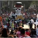 Imagen: Todo está listo para una próxima edición del Desfile de Día de Muertos, 6 de octubre de 2019 (SAÚL LÓPEZ /CUARTOSCURO.COM)