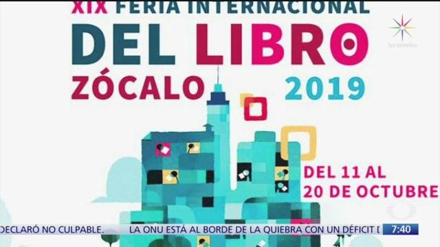 Despierta con Cultura: XIX Feria Internacional del Libro Zócalo 2019