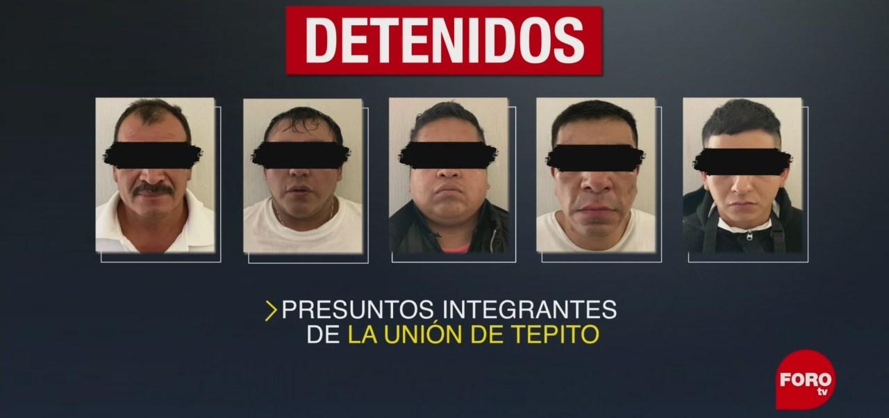 FOTO: Determinan legal detención cinco presuntos integrantes La Unión Tepito