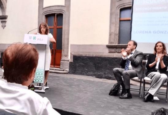 FOTO CDMX ofrece disculpa pública a 'La Lore' por caso Martí (Twitter PGJ-CDMX)