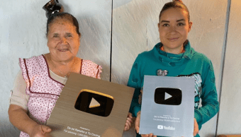 Foto Doña Ángela YouTube 30 Octubre 2019
