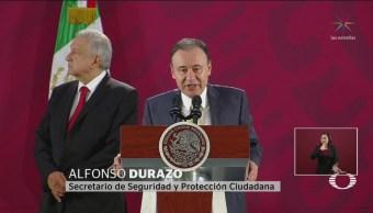 Foto: Durazo Afirma Postura Ocurrido Culiacán Sinaloa 30 Octubre 2019