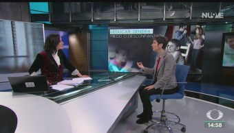 FOTO: Educar genera miedo desconfianza, Entrevista Nancy Steinberg