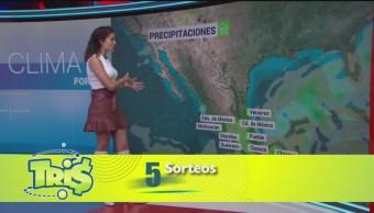 FOTO: El clima con Daniela Álvarez del 28 de octubre de 2019, 28 octubre 2019
