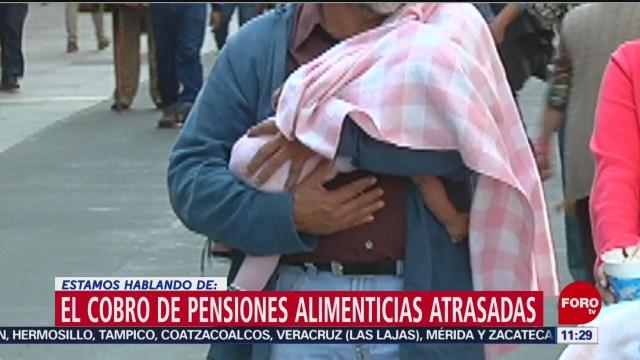 El cobro de pensiones alimenticias atrasadas