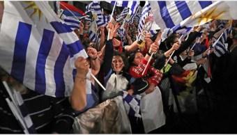 Foto: Las elecciones presidenciales de Uruguay se decidirán en una segunda vuelta, 27 de octubre de 2019 (EFE)