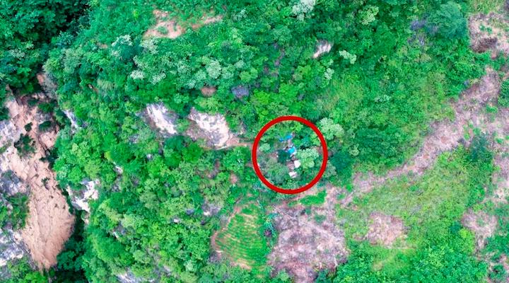 Foto:Atrapan a fugitivo gracias a drone. 1 Octubre 2019