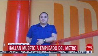 Foto: Muerto Empleado Metro Reportado Desaparecido 15 Octubre 2019