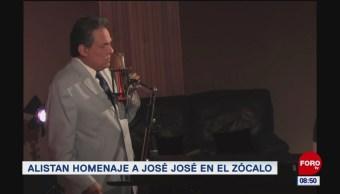 #EspectáculosenExpreso: Alistan homenaje a José José en el Zócalo
