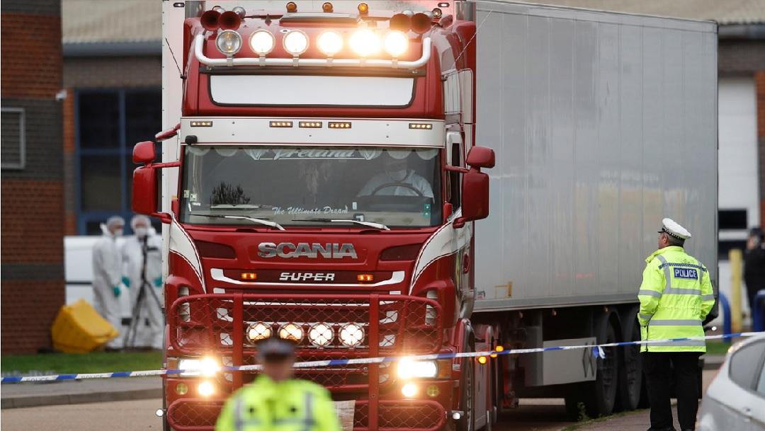 Chinas, las 39 personas halladas muertas en un camión en Essex, Reino Unido