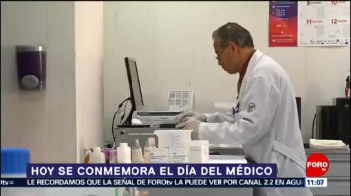 Este 23 de octubre se conmemora el Día del Médico en México
