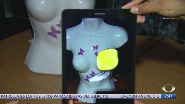 Estudiantes crean aplicación para crear conciencia sobre cáncer de mama