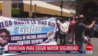 Foto: Estudiantes Ciudadanos Exigen Seguridad Celaya 3 Octubre 2019