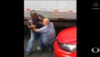 Foto: Gritos, claxonazos, golpes y hasta balazos son parte de las reacciones de ira que tienen los capitalinos tras sufrir un percance vial