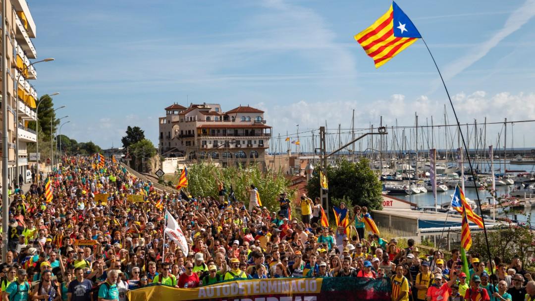 Foto: Protestas en Cataluña, 17 de octubre de 2019, Barcelona